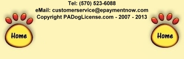 PA Dog License.com - An ePaymentNow.com
